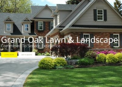 Grand Oak Lawn and Landscape
