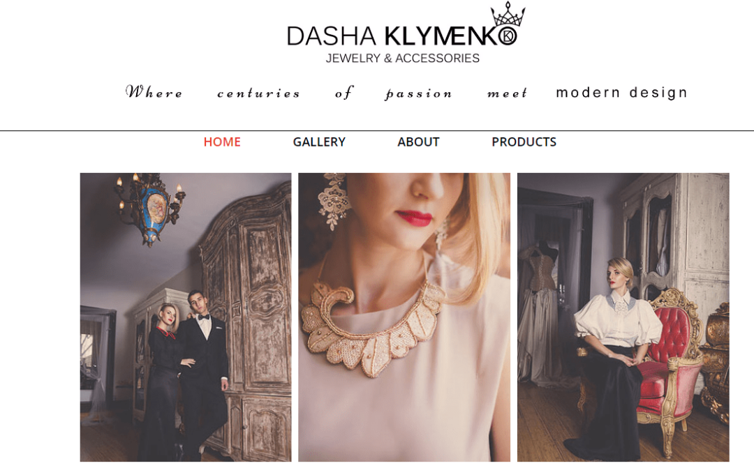 Dasha Klymenko Jewelry