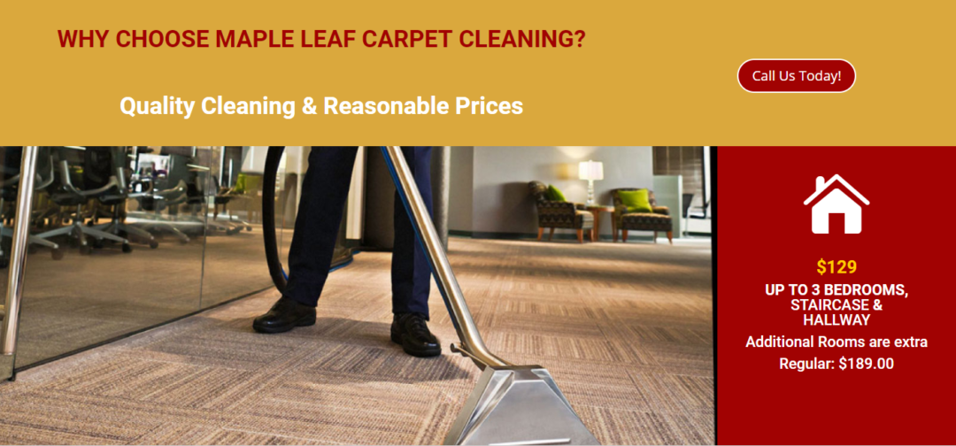 Maple Leaf Carpet Cleaning
